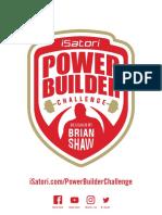 Isatori Power Builder Program