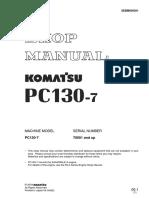 Shop Manual Pc 130-7