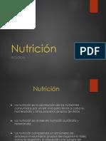 La Nutricion 1
