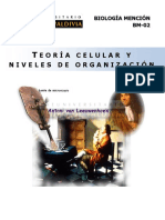 02 - Teoria Celular - Niveles de Organizacion - Bm - 2015