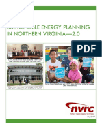 Sustainable Energy Planning in Northern Virginia - 2.0