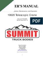 10620 Crane Manual