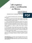 CAFE ORGANICO PRODUCCION Y CERTIFICACION EN MEXICO.doc