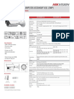 Hikvision DS 2CD2620F I(S)