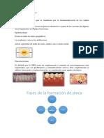 Fisiopatología de La Caries