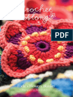 Frida Flower Blanket Full Us Pattern