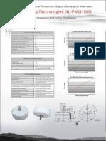 GL PMG 1500 Specification Sheet