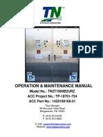 Manual Nitrogen Generator