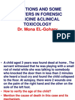 Cases With Answers for Dr.mona Elgohary