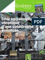 166 Eau & Rivières 166 - Janvier 2014 - Dossier Crise Agroalimentaire