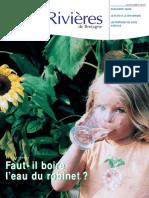 133 Eau & Rivières 135 - Automne 2005 - Dossier Boire l'Eau Du Robinet