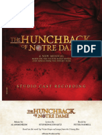 The Hunchback of Notre Dame (Studio Album Booklet)