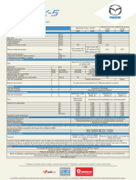 New Mazda Cx 5 FichaPdf