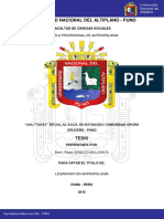 Comunidad Oruro