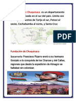 Ubicación de Chuquisaca Es Un Departamento de Bolivia Ubicado en El Sur Del País