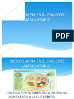 Dietoterapia en El Paciente Ambulatorio