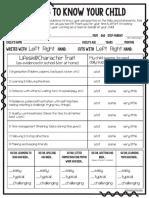 b2s parent input form -