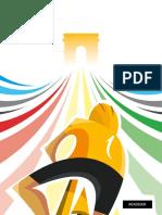 Libro Ruta Tour de Francia 2017