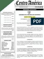Decreto No. 7 2017 Reformas Al Dto. No. 1441 Código de Trabajo