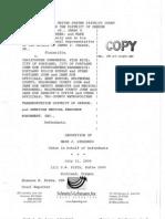 Ginsberg Transcript