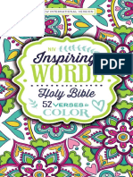 NIV Inspiring Words Holy Bible sampler