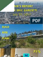 Mayor Eric Garcetti's priorities as Metro Board Chair