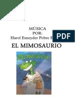 EL MIMOSAURIO - Partitura Completa