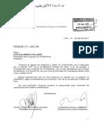 Proyecto de ley de Autoridad de Transporte de Lima y Callao