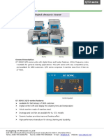 GT SONIC-QTD Ultrasonic Cleaner Brochure