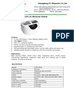 VGT-6250 2_5L Ultrasonic Cleaner Brochure