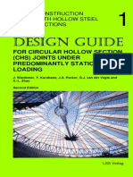 Design Guide 1 - For Circular Hollow Section (CHS) Joints Under Predominantly Static Loading, 2nd Edition