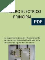 Tablero Electrico Principal