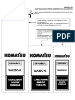 Manual de Taller WA200-6 JAPAN komatsu