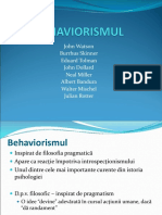 Tema 10 Behaviorismul