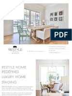 Restyle Home Staging Proposal