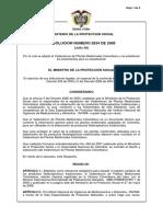 Resolucion 2834 de 2008