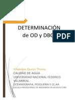 Dbo5, Nitritos y Nitratos