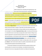 psych class reflection - processfolio