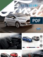 Broschuere Ford Fiesta St Line