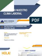 El Clima Laboral en Las Organizaciones