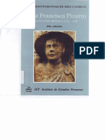 María Rostworowski - Doña Francisca Pizarro