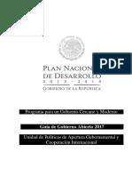 Programa Para Un Gobierno Cercano y Moderno