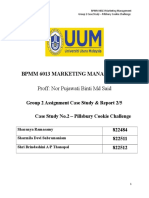 Case Study 2 - Pillburys Cookie Challenge