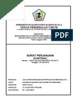 Cover Pengawasan_Perencanaan 2014 CV. FAJAR & CV. AFAPASTA