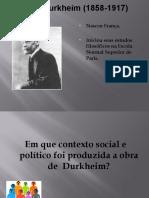 AULA Geral Durkheim
