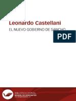 El Nuevo Gobierno de Sancho - Leonardo Castellani 1