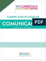 CAMPO DISCIPLINAR COMUNICACION EMS