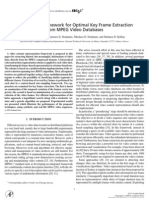 "MELJUN_CORTES's - THESES WRITING on ""A Stochastic Framework for Optimal Key Frame Extraction From MPEG Video Databases"""