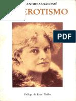 El Erotismo - Lou Andreas-Salomé
