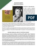 Cien Años de Soledad Resumen 3ro Medio
